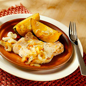 Orange-Mustard Pork Chops