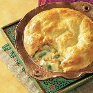 Biscuit-Topped Chicken Pot Pie