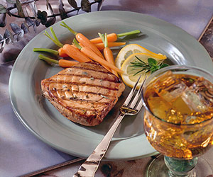 Marinated Tuna Steaks