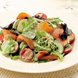Smoked Salmon Salad Nicoise