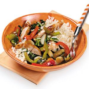 Chili Pepper-Chicken Stir-Fry