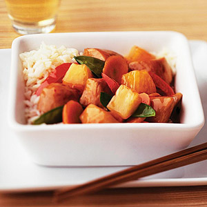 Stir-Fry Chicken with Pineapple