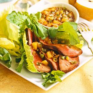 Sesame- and Soy-Grilled Steak Salad