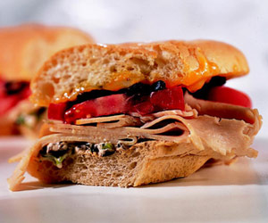 Taco-Turkey Sandwiches