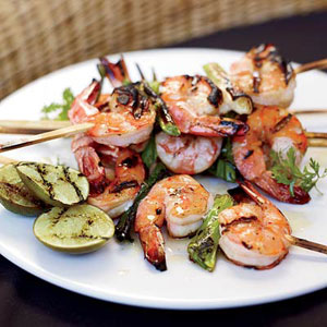 Grilled Miso Shrimp