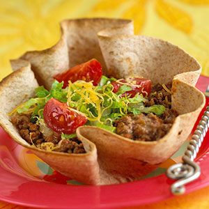 Reduced-Calorie Taco Salad