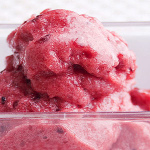 Blackberry-Orange Sorbet