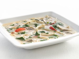 """Healthified"" Thai Chicken Soup"
