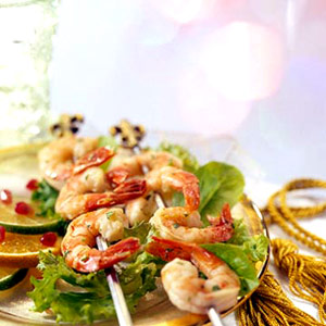 Marinated Lime Shrimp Appetizer