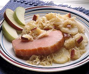 Pork-Sauerkraut Supper