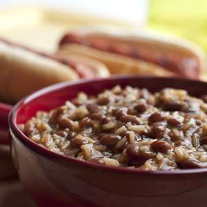 Quick Bean and Rice Casserole