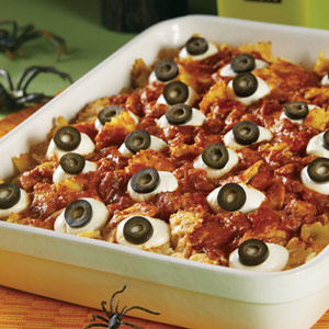 Baked Eyeballs Casserole
