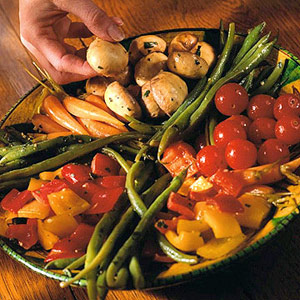 Lemon-Marinated Vegetables
