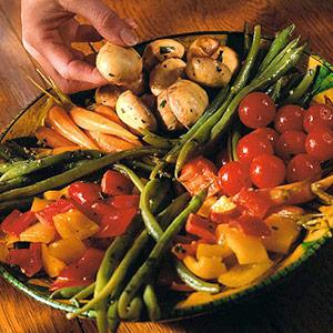 Lemon-marinated Vegetables
