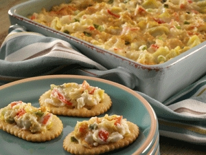 Creamy Crab and Artichoke Dip