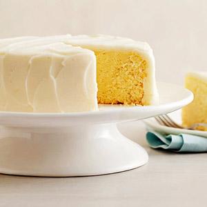 Steamed Lemon Cake