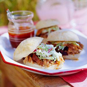 Memphis-Style Smoked Pork with Bourbon Sauce