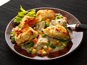 Chicken 'n Dumplings with Vegetables