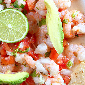 Mexican Shrimp and Vegetable Salad