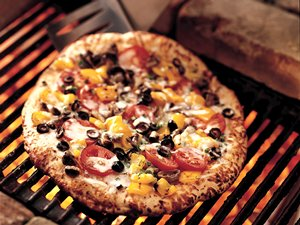 Grilled Antipasto Pizza