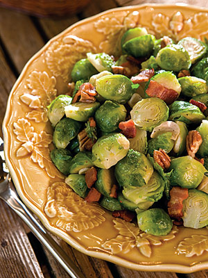 Southern-Style Brussels Sprouts