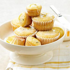 Fresh Rosemary & Lemon Cupcakes