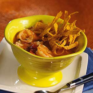 Chicken and Shrimp Tortilla Soup