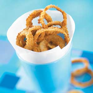 Oven-Fried Onion Rings
