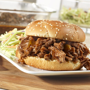 Sweet and Spicy Barbecued Brisket