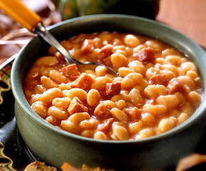 Iron Kettle Ham and Beans