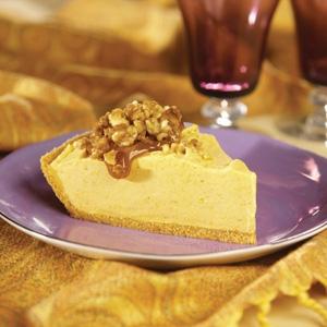 Streusel Topped Creamy Pumpkin Pie