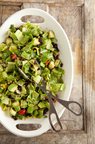 Southwestern Avocado and Black Bean Salad