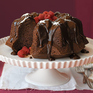 Triple Chocolate Bliss Cake