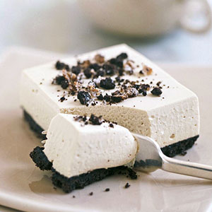 Creamy Cappuccino Squares