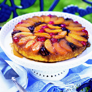 Peachy-Keen Upside Down Cake