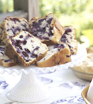 Blueberry Pound Cake