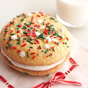 Santa's Easy Whoopie Pies