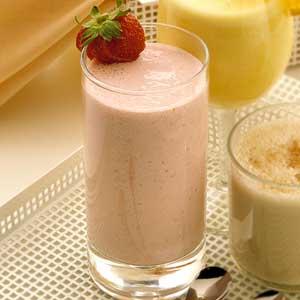 Fresh Fruit Blender Drink