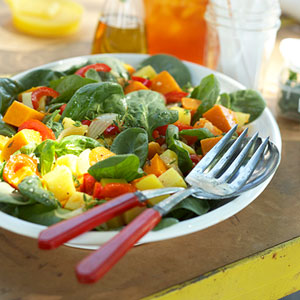 Potato and Squash Salad