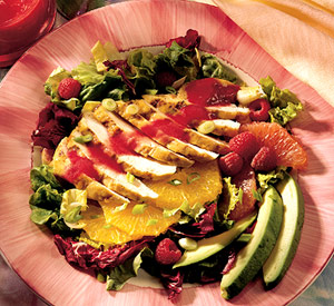 Chicken Salad with Raspberry Vinaigrette