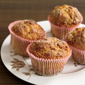Spiced Yogurt Muffins