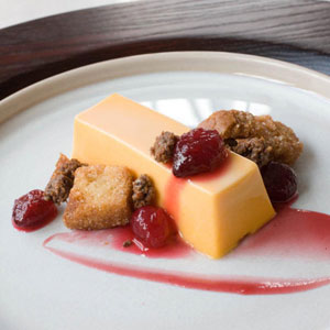 Sweet Potato Panna Cotta