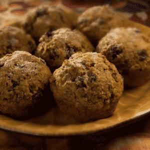 Bran Pumpkin Muffins