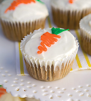 Chocolate-Chip Carrot-Cake Cupcakes