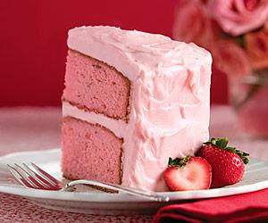 Strawberry-Preserve Cake