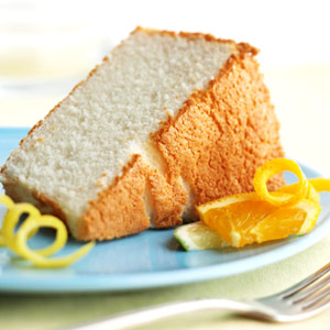 Citrus Angel Cake