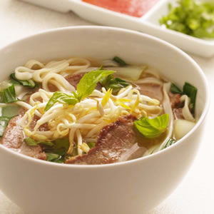 Vietnamese-Style Beef & Noodle Broth
