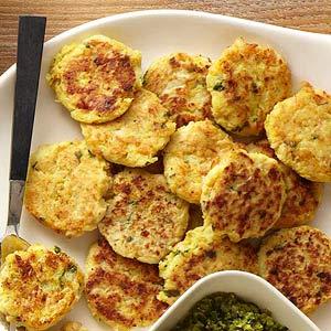 Cauliflower-Rice Cakes
