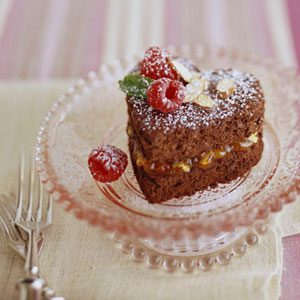 Heart-Healthy Chocolate Cake