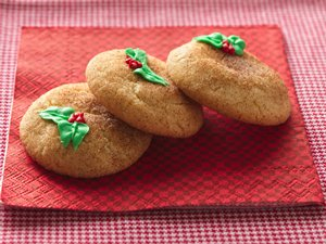 Holiday Snickerdoodles